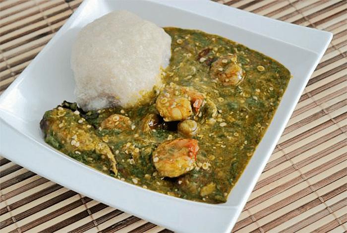 Couscous sauce Gombo séché